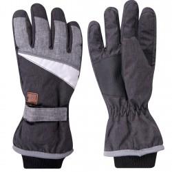 Grafitowe rękawiczki narciarskie nieprzemakalne 5P 24cm