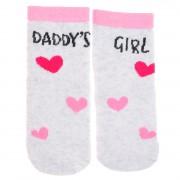 """Skarpetki bawełniane """"DADDY'S GIRL""""  skarpety dziewczęce"""