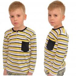 KOSZULKA POLO długi rękaw BLUZKA chłopiec wzór 265