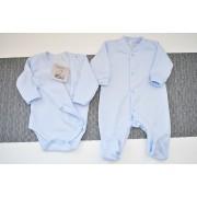 Niebieska WYPRAWKA dla noworodka do szpitala 5 części