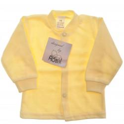 Żółty KAFTANIK koszulka bawełniana