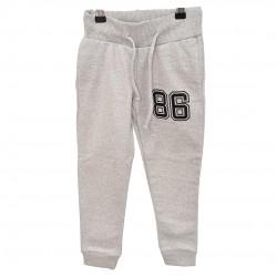 """OCIEPLANE Spodnie dresowe szare wzór """"86"""""""