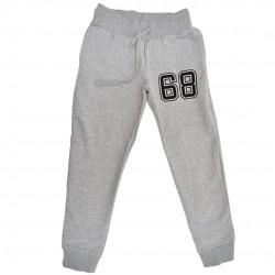 """OCIEPLANE Spodnie dresowe szare wzór """"68"""""""