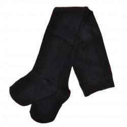 Czarne RAJSTOPY bawełniane gładkie