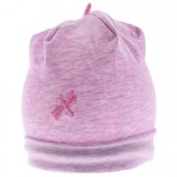 Czapka dla noworodka WCZEŚNIAK r.34-36 MAJKA fioletowa