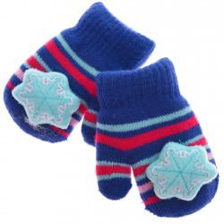 Zimowe rękawiczki z maskotką 16cm 116 122 wz.1