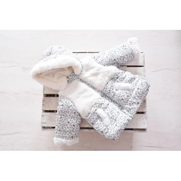 kurtka dla niemowlaka zimowa chrzciny