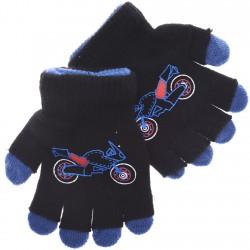Zimowe rękawiczki podwójne MotorCZ 18cm 128 134