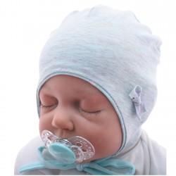 Czapka dla noworodka BETTY r. 36-38 mięta