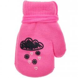 Rękawiczki dziewczęce z jednym palcem ChmuraR
