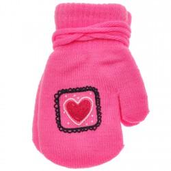 Rękawiczki dziewczęce z jednym palcem SerceR
