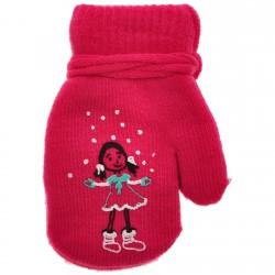 Rękawiczki dziewczęce z jednym palcem DziewczynkaA