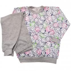 Piżama dziecięca buźki piżamka