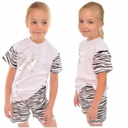 Piżama krótki rękaw rozmiar 92-140 piżamka KOKARDA