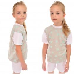 Piżama krótki rękaw piżamka 104B