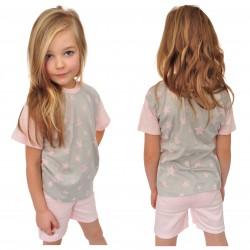 Piżama krótki rękaw rozmiar 92-140 piżamka 103R