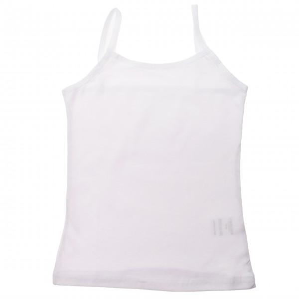Podkoszulka dziewczęca biała r.98-152 podkoszulek cienkie ramiączka