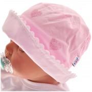 Różowy kapelusz dziewczęcy czapka TOSIA czapeczka r.42-46 LATO 74 80 86