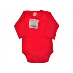 Czerwone BODY BAWEŁNIANE rozmiary od 56 do 110