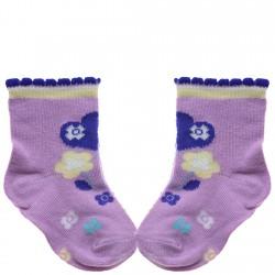 Skarpetki bawełniane skarpety dziewczęce wzór 621
