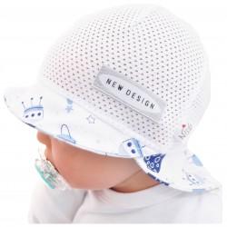 KAPELUSZ czapka KOSMOS rozmiary od 40 do 52 Czapka z daszkiem przeciw poceniuLATOLATO