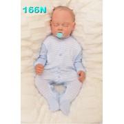 Pajac pajacyk bawełniany r.56-104 wzór 166N