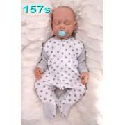 Pajac pajacyk bawełniany r.56-104 wzór 157S