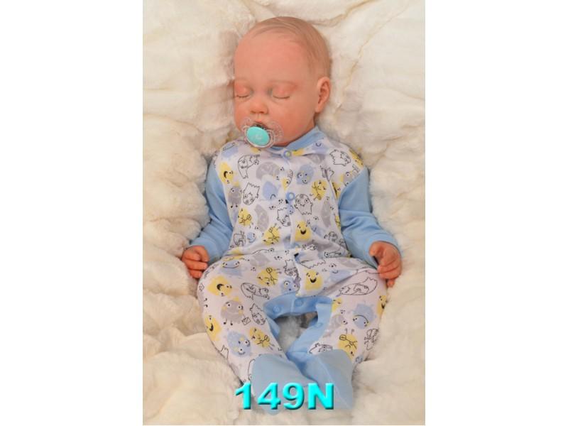 Pajac pajacyk bawełniany r.56-104 wzór 149N