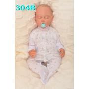 Pajac pajacyk bawełniany r.56-104 wzór 304B