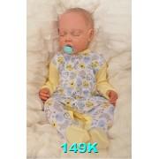 Pajac pajacyk bawełniany r.56-104 wzór 149K