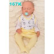 ŚPIOCHY ŚPIOSZKI r.56-86 bawełniane, wzór 167K